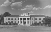 The first version of Cook Library, now known as  