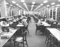 Cook Library reference collection in the 
